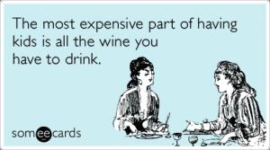 wine children