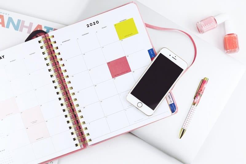 daily planning calendar
